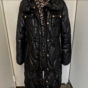 Guess Black Puffer Coat